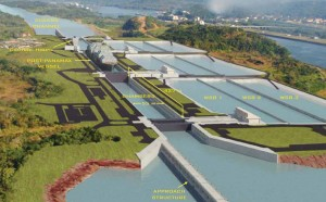 Panama Canal Expansion Lock