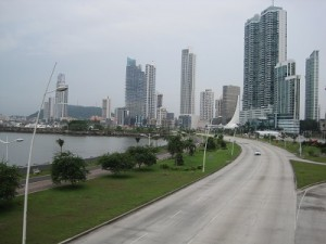 New Construction on the Bay of Panama