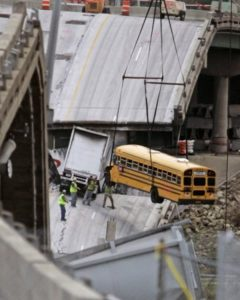 If you need to consider the pros and cons of infrastructure investing start with the Minneapolis I 35 bridge collapse.