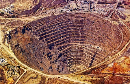 Is gold a good investment now - open pit gold mine