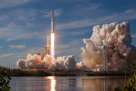 Invest in Space X - Falcon Heavy Rocket